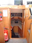 A comfy cabin for your english channel fishing trips